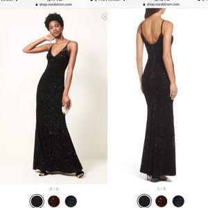 Dress the Population Velvet Sequin Gown